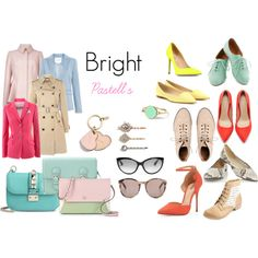Designer Clothes, Shoes & Bags for Women Bright, Shoe Bag, Stuff To Buy, Shopping, Collection, Design, Women, Fashion, Pastel