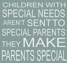 Children with special needs quote