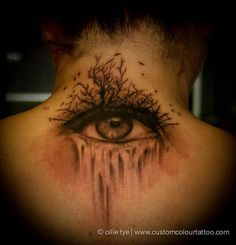 #InkedMag #Tattoo of The Day #Inked #tattoos #tattooed #art #eye #dark #ink