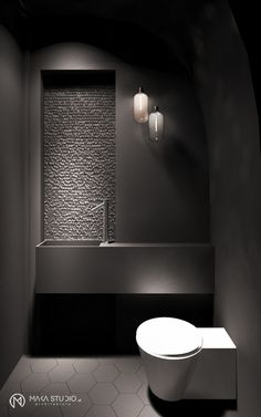 Bathroom design WAW2 - makastudio