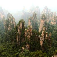Zhangjiajie by CathyDong on deviantART
