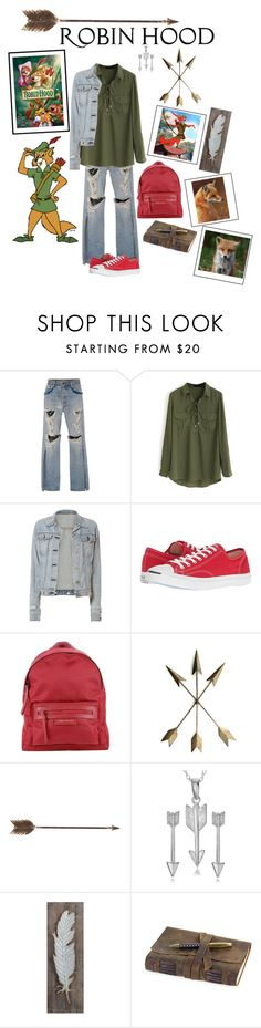 """""""Descendants: Robin Hood"""" by nady-beren on Polyvore featuring Jonathan Simkhai, WithChic, rag & bone, Converse, Longchamp, Creative Co-op, Disney, ...Lost and Journee Collection"""