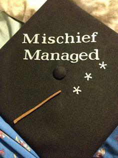 my graduation cap all decorated :)
