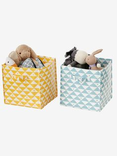 I➨Keep your little one's bedroom organised with Vertbaudet's range of kids' storage baskets. The designs are so cute, kids will want to tidy up. Kids Storage Baskets, Under Bed Storage Boxes, Cute Storage Boxes, Fabric Storage Boxes, Small Storage, Toy Storage, Children Storage, Storage Units, Coat Hooks On Wall