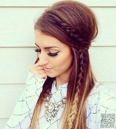 24 Impressive Half Braid Hairstyles For 2017