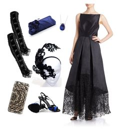 """Opera ready"" by donnette-fetters on Polyvore featuring beauty, Casetify, ML Monique Lhuillier and Blue Nile"