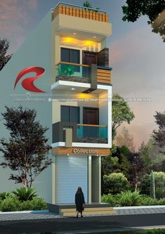 Rc Visualization is a growing Plan & Elevation Designing company. We are expert in architectural Planning, Elevation Designs, interior designs and realistic renderings. House Outer Design, Modern Small House Design, House Front Design, Village House Design, Duplex House Design, Narrow House Designs, Model House Plan, Architectural House Plans, Home Building Design