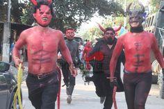 Tradición, sangre, alcohol. El Carnaval de Zacate colorado, Tihuatlan.