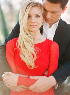 Beautiful color choice for engagement photo shoot  #engagement #wedding
