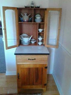 Primitive Hoosier Cabinets for Sale | Small Hoosier Cabinet , P ...