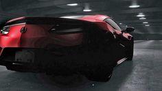 Honda NSX teaseri | Flickr - Photo Sharing!