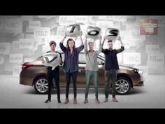 One Direction Toyota Vios Thailand full commercial - YouTube