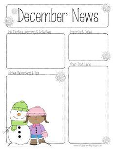 e170402bf8d19dc13b8de7ca7ec77bde--cl-newsletter-clroom-newsletter January Newsletter Template Teachers on