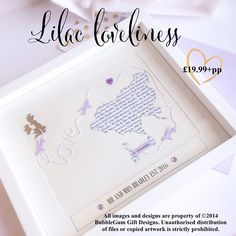 Such a #pretty colour this #design in the #purples and a #perfect #keepsake