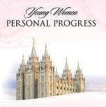 LDS Young Women Activity Ideas and More!: Parents and Personal Progress