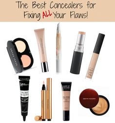 The BEST concealers for fixing flaws. Pin & save! #sp