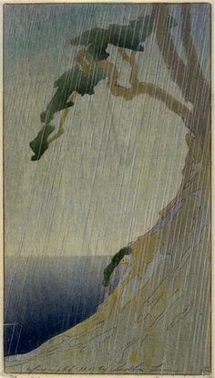Rain by Bertha Lum, 1908