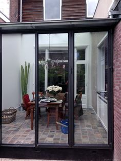 Glass Conservatory, Steel Stairs, Inside Doors, Steel Doors, Get Outside, Steel Frame, Classic Style, Building A House, Modern Design