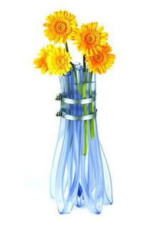 water it or vase it! Flexible Tubing, Flower Vases, Flowers, Flute, Glass Vase, Floral Design, Simple, Plants, Gifts