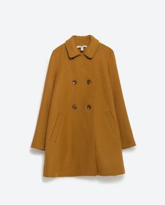 Image 8 of CAPE COAT from Zara