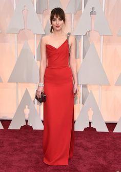 Oscars 2015 Red Carpet Arrivals | Dakota Johnson