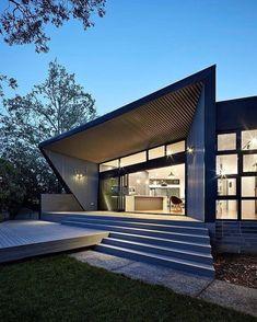 "1,710 Me gusta, 3 comentarios - Fine Architecture (@finearchitecture) en Instagram: ""Narrabundah House by Adam Dettrick Architects | More images @interiorsmagazine #fineinteriors…"""