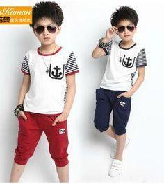 Stylish Little Girls, Little Boy Outfits, Kids Outfits, Boys Short Suit, Boys Suits, Mens Polo T Shirts, Boys T Shirts, Fashion Kids, Boys Tracksuits