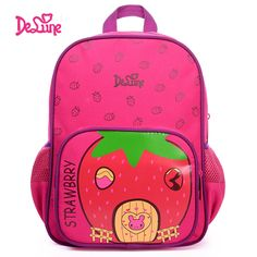2017 Delune Kindergarten Bags Children Kid School Backpacks Toddler Backpack  For Girl  Affiliate Nursery School d1c16c5bfe