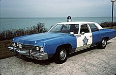 1973 Chevy, Chicago Police Department.