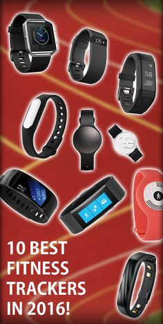 Struggle with deciding which fitness tracker is the best? Welcome to my list of the Top 10 Fitness Tackers in I'm sure you find a fav for you or as a gift. Microsoft Band, Best Fitness Tracker, Fitness Gadgets, Health Motivation, Smart Watch, Fitbit, My Favorite Things, Check, Sports