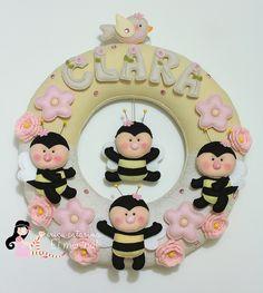 Guirlanda da Clarinha ♡ by Ei menina! - Érica Catarina, via Flickr