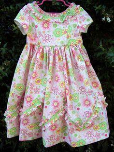 Susan Stewart Designs - heirloom sewing: Baby's breath dress