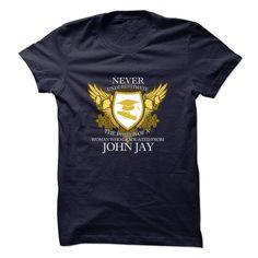 Limited Edition - Never Underestimate JOHN JAY Graduate T Shirt, Hoodie, Sweatshirt