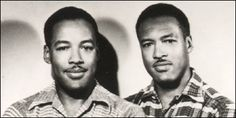 Renaissance men: Twin brother artists Morgan and Marvin Smith moved to Harlem from Kentucky in 1933, setting up a photo studio next door to theApollo Theatre. For the next 50 years, they worked in painting and photography, drawing luminaries to their studio such as Duke Ellington, Eartha Kitt, W.E.B. Dubois, and Langston Hughes. This picture is by artists Marvin and Morgan Smith;  Photo: M & M Smith, courtesy ITVS