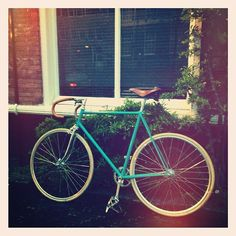 #Blue / #Sea #Green Fixie