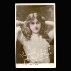 Vintage Postcard Phyllis Dare Actress 1905 from JMCVintagecards Postcards For Sale, Vintage Postcards, Dares, Mall, Actresses, Etsy, Vintage Travel Postcards, Female Actresses, Template