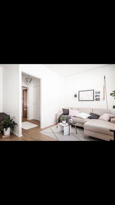 Living room #livingroom #white #scandinavian