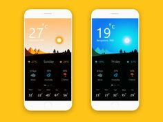 Weather App  by Chinnathambi Sundaram
