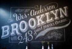 Chalk Typography - Dana Tanamachi | Sideways