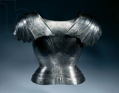 Gothic backplate, c.1475-1500 (steel & leather)