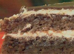 Priprema:  1.Priprema za prvi patišpanj: Mikserom mutiti žumanca, 100 g putera, 70 g šećera i mutiti mikserom. Na krupnoj strani rende u sud izrendati 60 g čokolade. Mikserom mutiti belanca, pa dodati u prethodnu smesu. Dodati 80 g mlevenih oraha i prašak za pecivo i promešati. U nauljen okrugli kalup preručiti testo. Peći 15 minuta na 200°C.