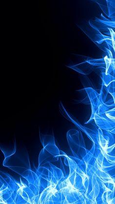 Blue Fire Iphone X Wallpaper - 2021 Live Wallpaper HD