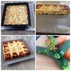 - Eplucher et râper deux carottes - Laver et râper deux courgettes - Disposer les légumes râpés dans un moule en silicone - Mélanger 2 œufs, 3 cuillères à soupe de fromage blanc, 1 cuillère à café de moutard, sel et poivre - Déposer ce mélange sur les...