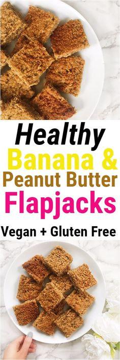 Banana and Peanut Butter Flapjacks