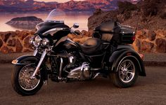 Customized for wherever the road takes you. | Harley-Davidson 2009 Tri Glide® Ultra® Classic