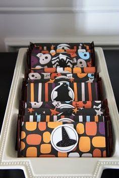 Candy Bar Wrapper Idea