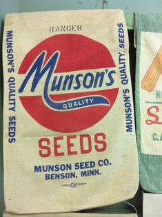 My grandparents were subsistence farmers and lots of things came in feed sacks.  That was before Monsanto became a monopoly.