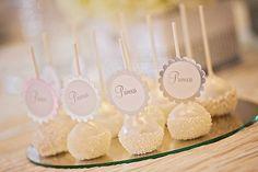 Princess cake pops. #weddingcakepops #princesswedding