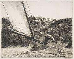 edward hopper - Cat Boat