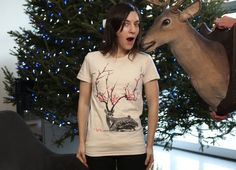 such an awesome shirt, fawn <3